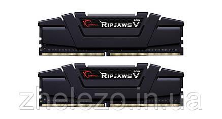 Модуль пам'яті DDR4 2x8GB/3200 G. Skill Ripjaws V Black (F4-3200C16D-16GVKB), фото 2