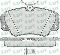 Тормозные колодки передние  Опель Омега A/ Омега B/ SENATOR B (пр-во LPR 05P449)