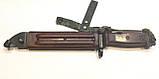 ММГ штик ніж клинковый 6x4 до АКМ і АК-74 (бакеліт рукоять,піхви), фото 4