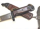 ММГ штик ніж клинковый 6x4 до АКМ і АК-74 (бакеліт рукоять,піхви), фото 5