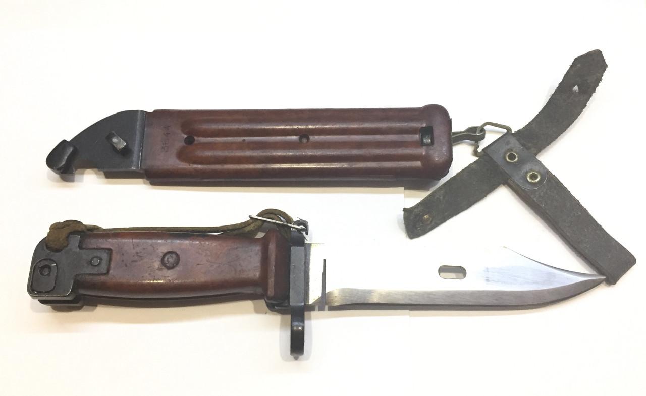 ММГ штик ніж клинковый 6x4 до АКМ і АК-74 (бакеліт рукоять,піхви)