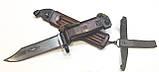 ММГ штик ніж клинковый 6x4 до АКМ і АК-74 (бакеліт рукоять,піхви), фото 2