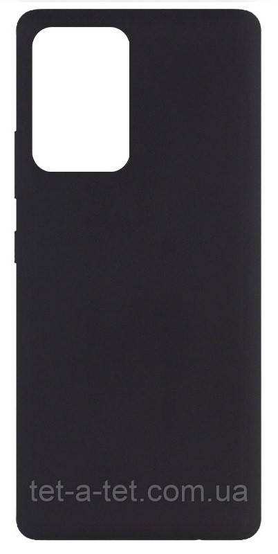 Чехол Silicone Cover Full для Samsung A72 Black