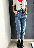 Женские джинсы момы серые голубые черные, фото 3