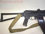ММГ АКС-74У -автомат Калашникова (5,45-мм зі складним убік металевим прикладом) макет, фото 5