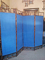 "Ширма из бамбука 170х200см  "" Аура"" синяя"