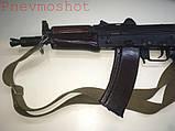 ММГ АКС-74У -автомат Калашникова (5,45-мм зі складним убік металевим прикладом) макет, фото 3