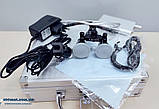 Бинокуляры стоматологические 3.5 X-R с LED подсветкой, высокое качество, гарантия., фото 9