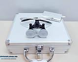 Бинокуляры стоматологические 3.5 X-R с LED подсветкой, высокое качество, гарантия., фото 3