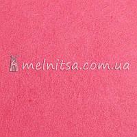 Фетр листовой 20x30 см, 1 мм, Розовый