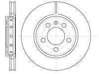 Тормозной диск задний  Ауди, Сиат, Шкода, Фольксваген (пр-во REMSA 6646.10)