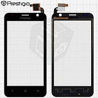 Touchscreen (сенсорный экран) для Prestigio MultiPhone 3450 Duo, черный, оригинал