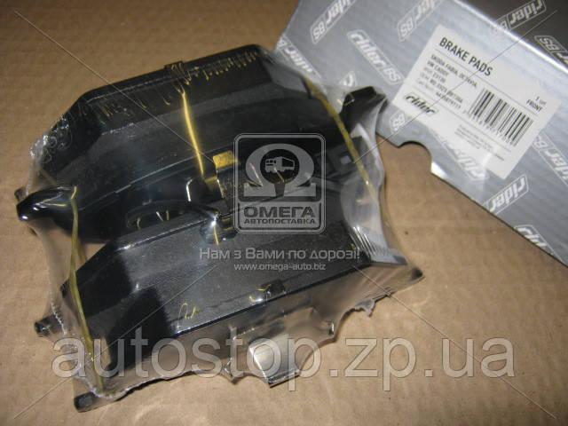 Колодки гальмівні передні Фольксваген Кадді III диск діам. 280 мм 2004--2010 Rider (Угорщина) RD.3323.DB1386