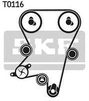 Комплект ГРМ (ремінь і ролики) CHEVROLET, Деу Опель (пр-во SKF VKMA05222)