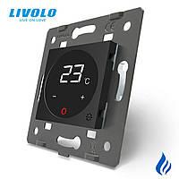 Механізм терморегулятор сенсорний з сухим контактом Livolo, C7-01TM3-12