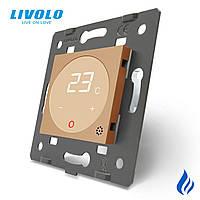 Механізм терморегулятор сенсорний з сухим контактом Livolo, C7-01TM3-13
