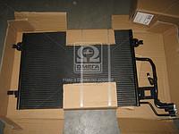 Радиатор кондиционера на Volkswagen Passat 2000г.-2005г. и Skoda Superb 2001г.-2008г. (пр-во Tempest)