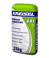Цементная стяжка М-15 KREISEL 441 ESTRICH-BETON (25кг)