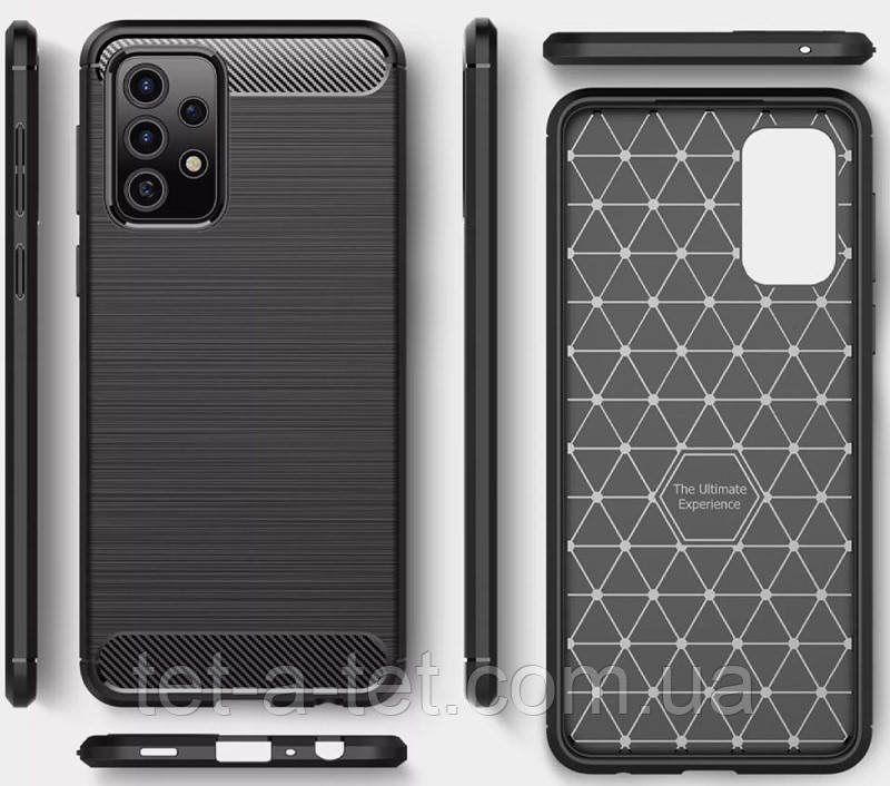 Чехол Slim Series для Samsung Galaxy A72 Black