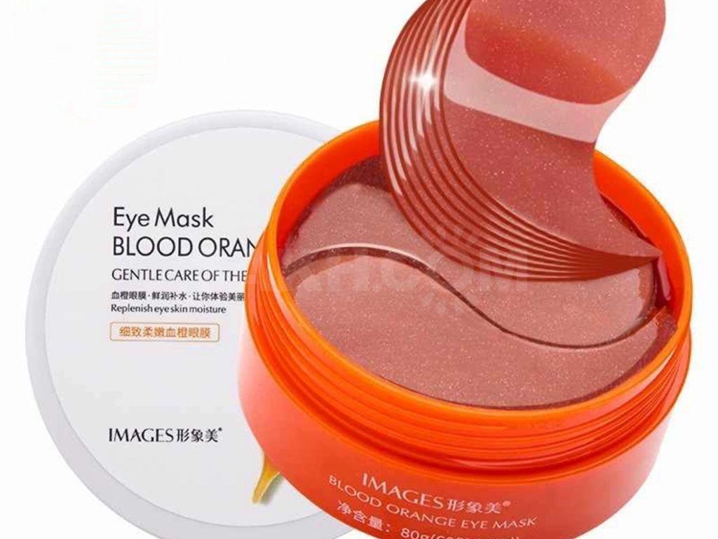 Гідрогелеві патчі з екстрактом червоного апельсина IMAGES Eye Mask Blood Orange 60шт