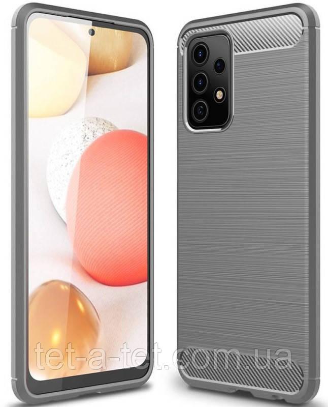 Чехол Slim Series для Samsung Galaxy A72 Grey