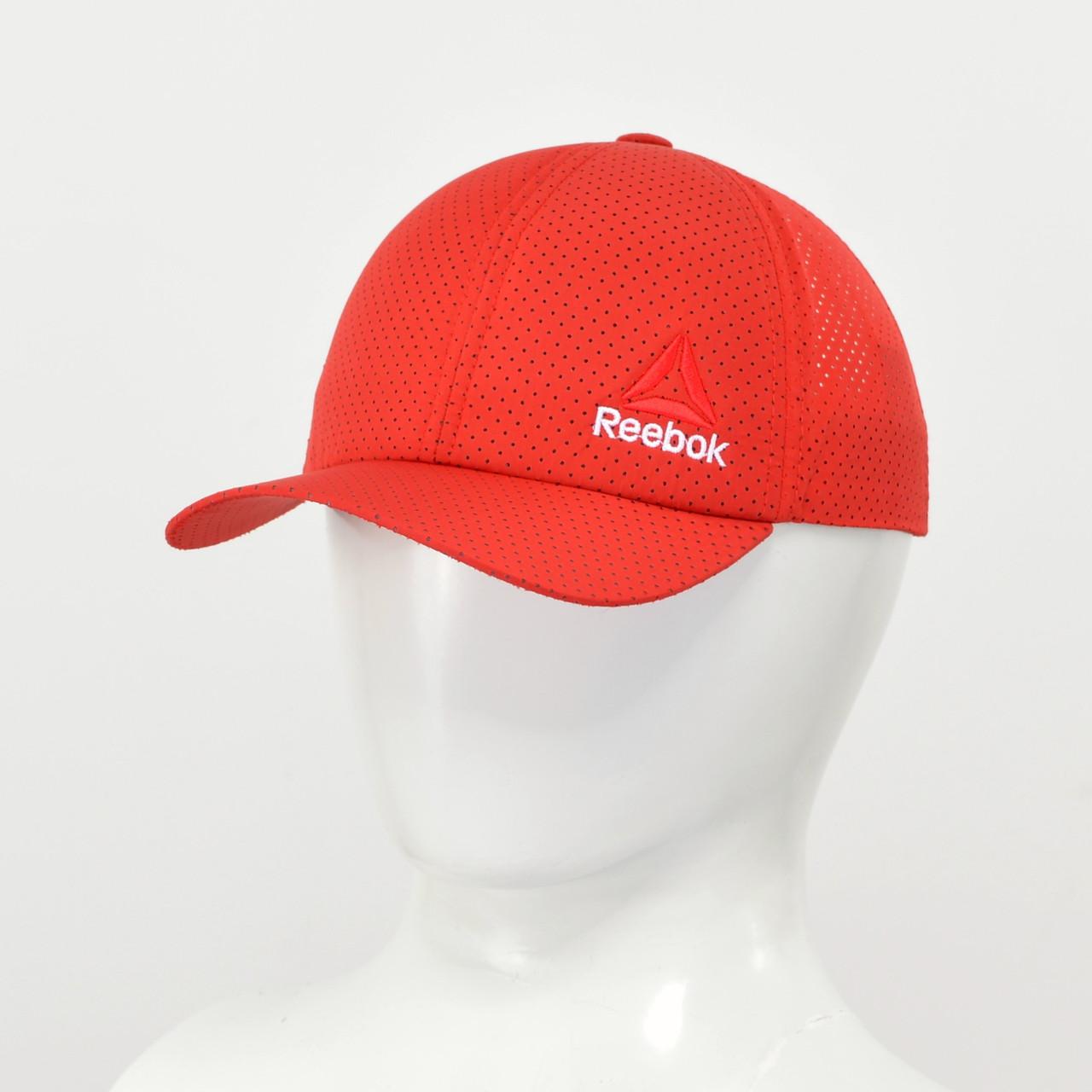 """Бейсболка """"Перфорація"""" Reebok 2021 червоний"""
