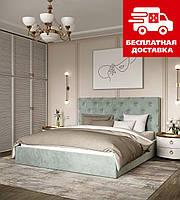Ліжко двоспальне ВЕЛЮР 160*200, з механізмом, фото 1