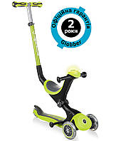 Самокат Globber Go Up Deluxe Play 5in1 Lime Green (салатовый), фото 1