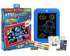 ОПТ Дитяча Дошка для малювання Чарівна дошка Magic Pad в наборі шаблони маркери в коробці 3Д магічна, фото 3