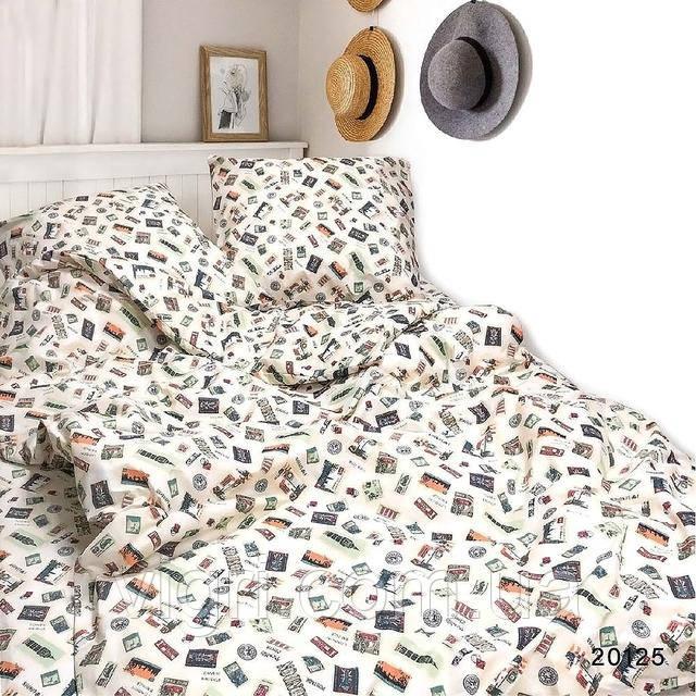 Постельное белье, двухспальное, ранфорс Вилюта «VILUTA» VР 20125