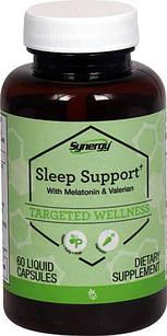 Vitacost комплекс для хорошего сна с мелатонином, валерианой, пассифлорой, хмелем, ромашкой, шлемником 60 ЖК