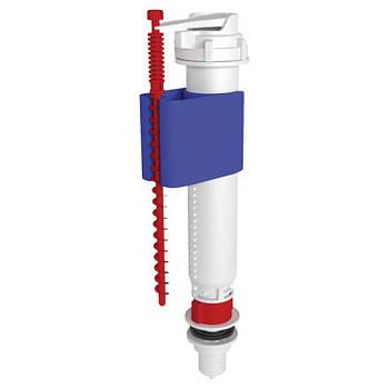 """Впускной клапан ANI Plast WC5510 нижней подачи, пластиковое подключение 1/2"""" телескопический"""