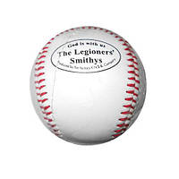 Мяч бейсбольный мягкий.