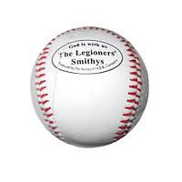 Мяч бейсбольный жесткий.