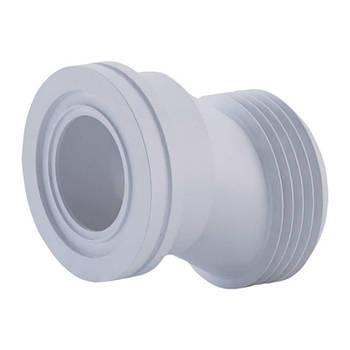 Фановая труба ANI Plast W0220 для унитаза эксцентрическая по центрам 20 мм