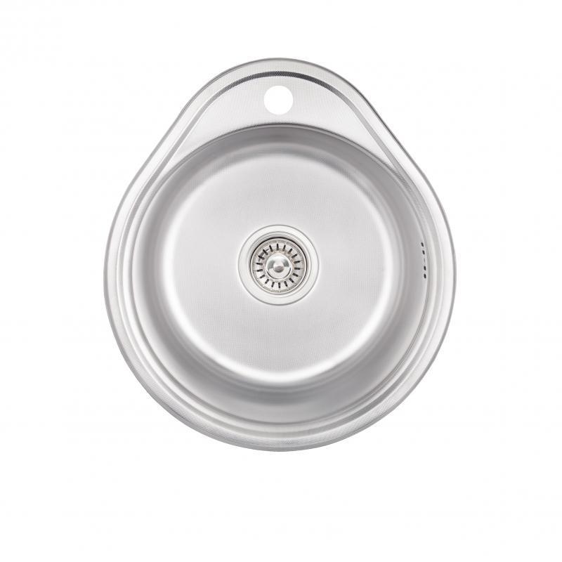 Кухонна мийка Lidz 4843 Decor 0,6 мм (LIDZ484306DEC)