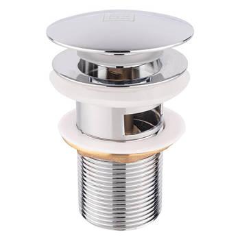 Донный клапан для раковины Lidz (CRM)-47 00 003 00 с переливом