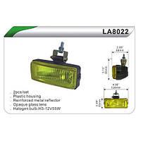 Фара дополнительная   DLAA 8022-W/H3-12V-55W/126*53mm (LA 8022-W)