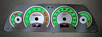 ProSpirit - Накладки на панель приборов для ВАЗ 2110, ВАЗ 2112, «Chevrolet Niva», Grey & Green, YB-008