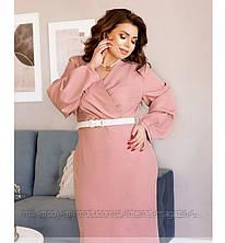 Элегантное платье больших размеров арт 722 с 48 по 58 р. (мин)