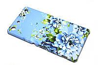 Пластиковый чехол для Sony Xperia M5 E5633 голубой, фото 1