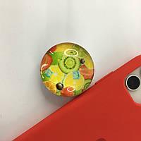 Попсокет POPSOCKETS фрукти / Універсальний тримач-підставка для телефону