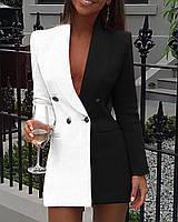Женское молодежное платье-пиджакдля девушек размер 40-46,цвет уточняйте при заказе