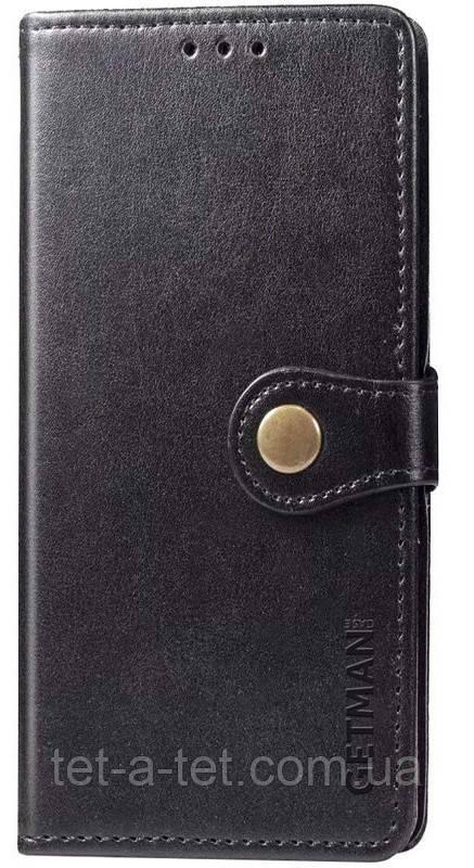 Шкіряний чохол-книжка GETMAN Gallant для Samsung Galaxy A52 Black