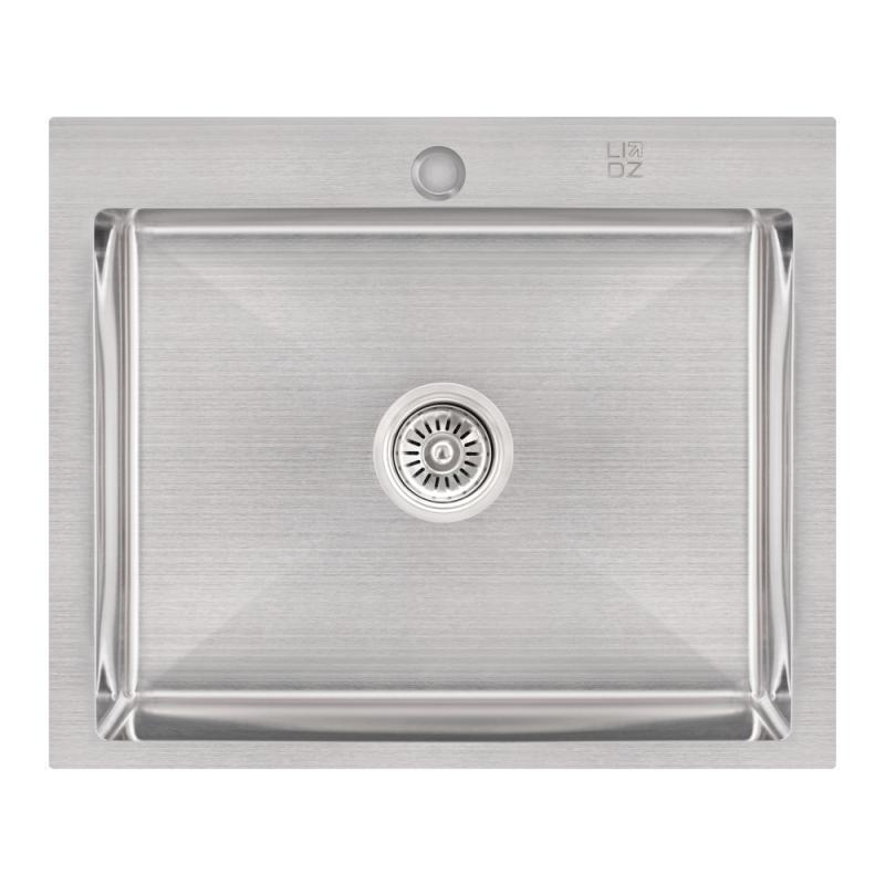 Кухонна мийка Lidz H6050 Brush 3.0/1.0 мм (LIDZH6050BRU3010)