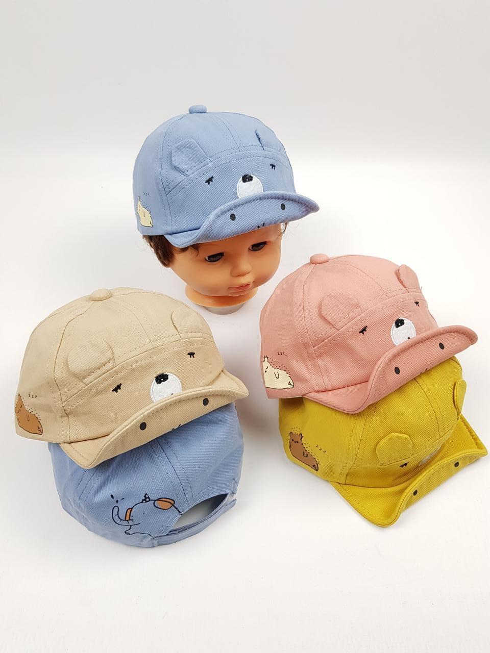 Детские кепки оптом для малышей, р.46