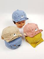 Детские кепки оптом для малышей, р.46, фото 1