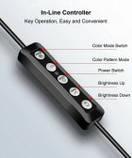 Селфи-лампа Led кольцо MJ26 26 см RGB с мульти регулировкой света, управлением от USB и креплением, фото 3