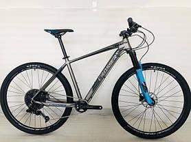 Гірський велосипед 26 дюймів Crosser Solo рама 17 червоний, фото 2