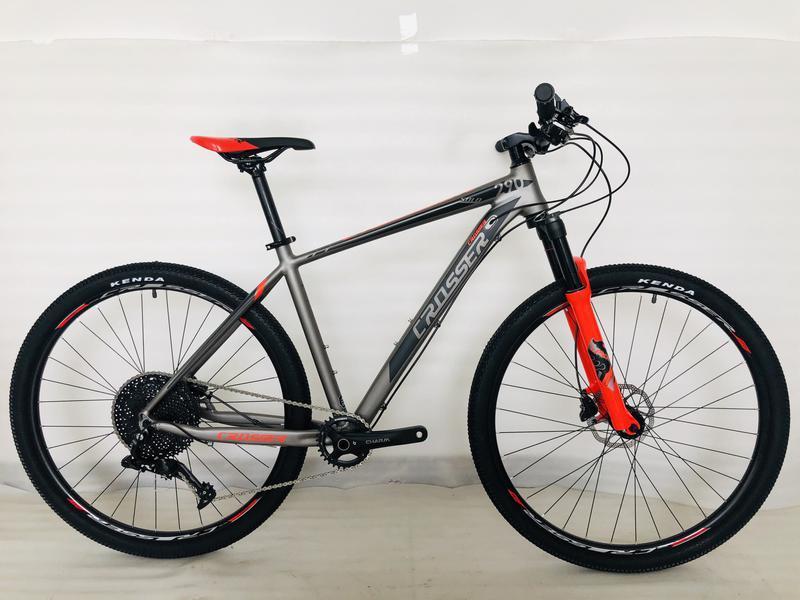Гірський велосипед 26 дюймів Crosser Solo рама 17 червоний